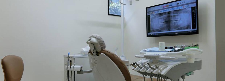 川口駅マツモト歯科の診療室